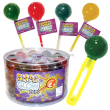 Fruit Flavour Glow light stick lollipop