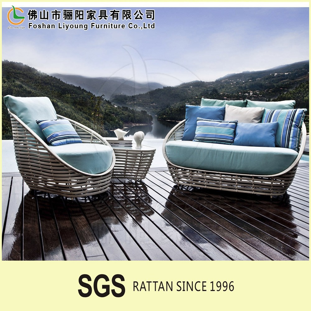 New products high quality and low price simple rattan sofa garden furniture greece set pictures of beds sofa designs