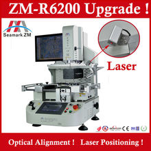 Semi automatic infrared bga rework station ZM R6200 with optical alignment system for laptop motherboard ps3 gpu repair