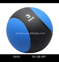 Fitness exercise rubber weight medicine ball