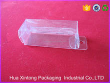 PVC transparent plastic packaging folding box for tools