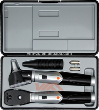 Premium quality diagnostic ophthalmoscope otoscope set