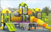 rubber-coating outdoor playground equipment TX-SL01 /amusement park playground equipment