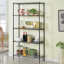 XM_227G 5 Tier free samples adjustable iron hotel wire <strong>shelf</strong>
