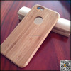 Real wood, back round hole wood case for iPhone6 wood phone case