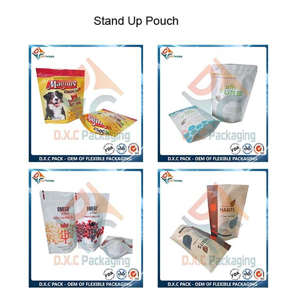 Leakproof Food Grade Clear Drink Stand Up Spout Pouch
