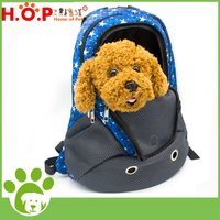 stylish Pet Products Puppy dog Backpack Carrier with Nylon and PU