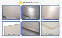 CE fiber cement different types of ceiling board