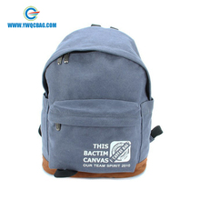 Various colors cheap 600D polyester promotion backpack school bag for students