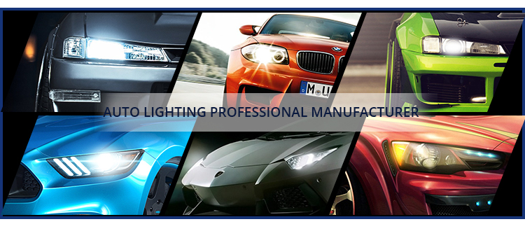 Auto Lighting Led Headlight H1 H3 H7 H4 H11 9005 9006 30W 4000LM T5 Tri Color Led Headlight Led H7 Car Led Headlight