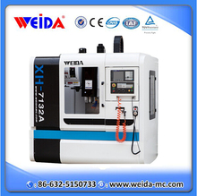 XH714 china supplier WEIDA new high quality 3 axis cnc vertical machining center