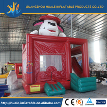 Wholesale mini PVC inflatable dog type bouncer house inflatable jumper for kids play