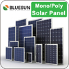 Bluesun cheap small size solar panels 3w 10w 50w solar panels for solar kits