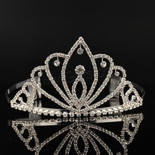 Elegant Pageant Rhinestone Fashion Crown tiaras