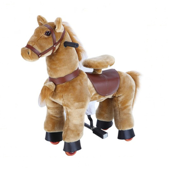 Elong mechanical horse animal ride, horse riding toy