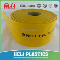 PVC lay flat tubing SGS CE 6 inch water pipe
