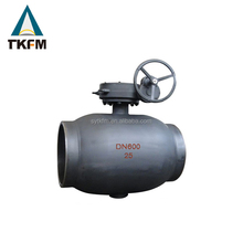 Chinese wholesale ansi class trunion welded ball valve dn200 carbon steel