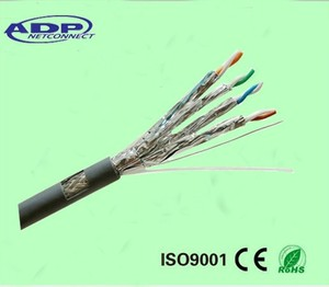 Cat6A/ cat7/8 SSTP network cable UL PASS FLUKE