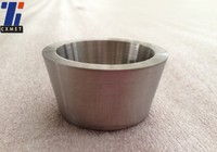 99.5% high purity molybdenum crucibles for smelting