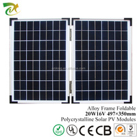 Customized 20W Foldable Solar Panel PV Modules Made In China