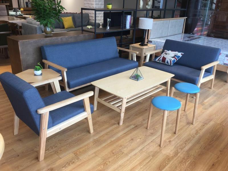 solid teak wood sofa set designs living room chairs wholesale Malaysia wood  sofa sets furniture settee chairs