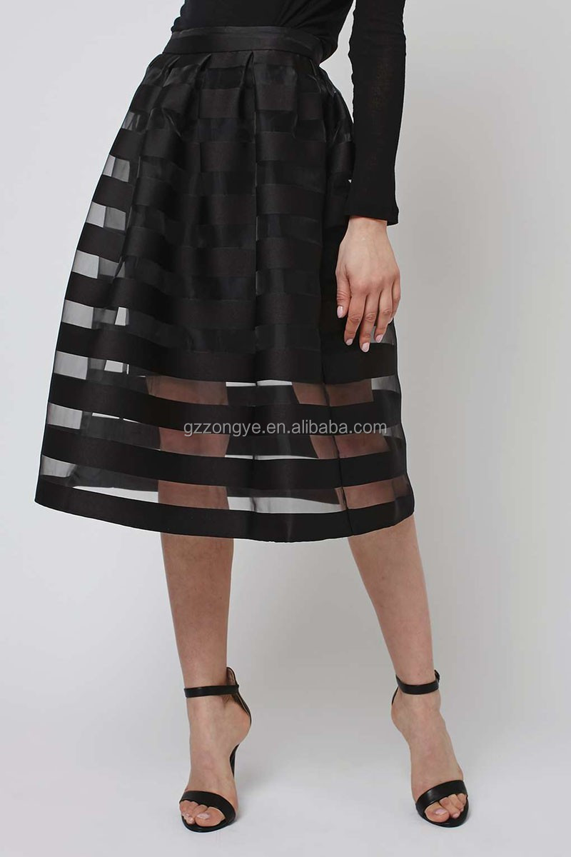 Strip pattern Pictures of long skirts ladies different types of skirts