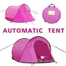 super light outdoor automatic tent for camping