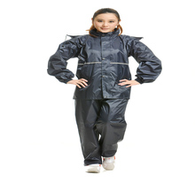 adult oxford bicycle raincoat with outdoor waterproof jacket