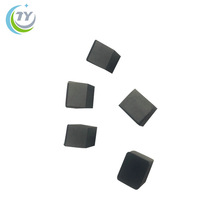 Diamond and tungsten carbide substrate brazed tips square cutting tools pcd inserts pcd blank