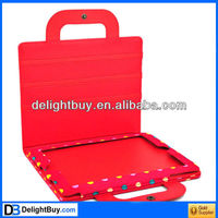 Red dot PU Leather Bag Case Cover Protector for iPad 2 iPad 3