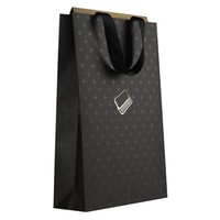 wholesale luxury folded paper shopping bag