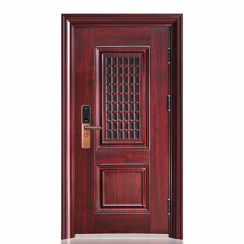 Hot sale new designed unbreakable steel security <strong>door</strong>