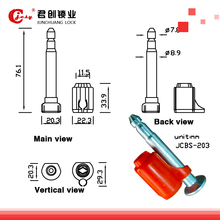 High quality Air and Sea Shipping Container Bolt Seal JCBS203