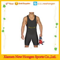 Top Quality Profession Club Wrestling Singlets With Your Own Logos