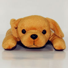 peaceful sleeping breathing toy dog