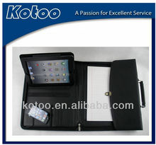 business briefcase with ipad cover in inside