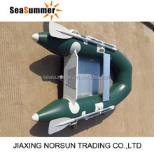 Gasoline Motor engine small Rafting boat price with aluminum floor