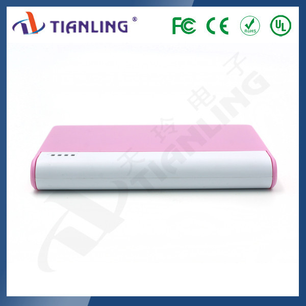 Emergency mobile phone power bank 6000mah portable charger