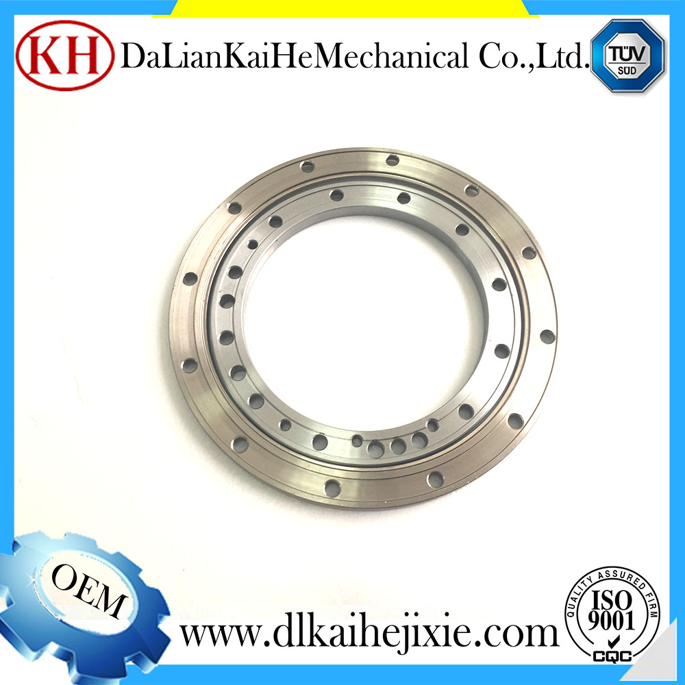 cnc machining precision grinding machining part cnc parts oem vaginal applicator stainless steel flange coupling applications