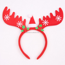 Reindeer Antler Headband with Snowflake for Christmas & Holiday Party Decorations Antlers Christmas Headband
