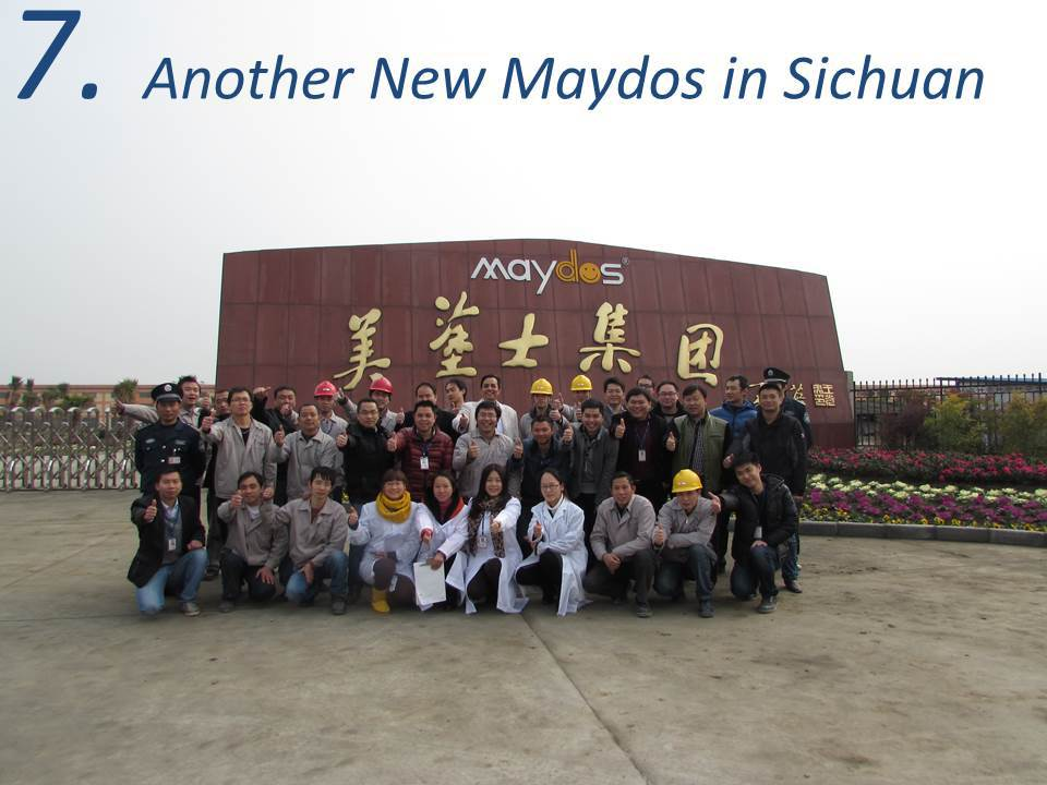 Maydos anti slip Oil Epoxy Resin base production plant Warehouse Floor coating (China paint company/maydos paint )