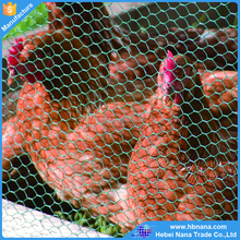 Green, black pvc coated chicken hexagonal wire mesh poultry wire netting