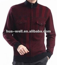 2013 new fashion design knitted sweater for men