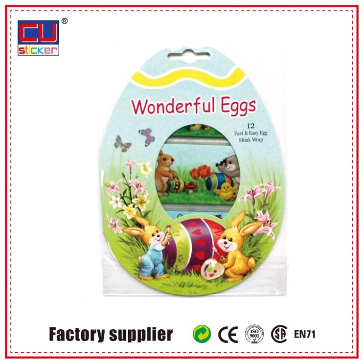 Accept custom pvc shrink sleeve for egg bottle labels packaging