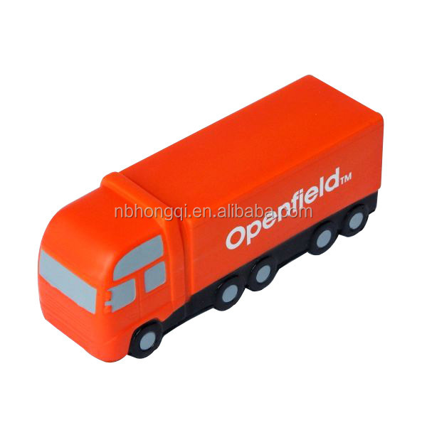 CE standard Good Quality Custom Container Truck shaped Anti Stress Ball