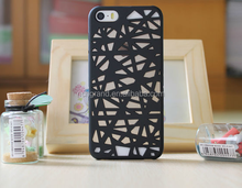 Elegant New Design 3D Hollow Bird Nest Snap Back Cover Case For iPhone 5 5S SE 6 6S