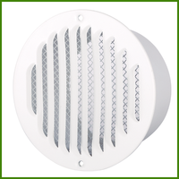 Hot Sale 4 inch White Ceiling Adjustable Air Diffuser