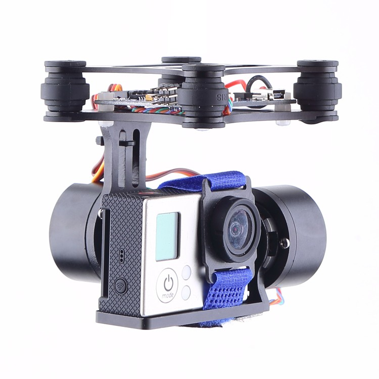 CNC Brushless Gimbal Camera Mount Motor & Controller for DJI Phantom GOPRO34 FPV Brushless Gimbal motor control