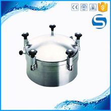 Food Grade/Sanitary Pipe 2016 Sanitary Manhole Cover For Machine Beer