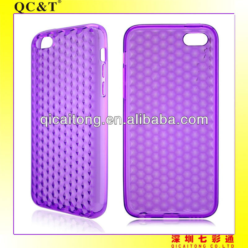 New product mobile diamond phone tpu case for iphone 5c